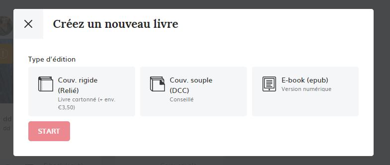 créer un livre plateforme autoédition Monbeaulivre