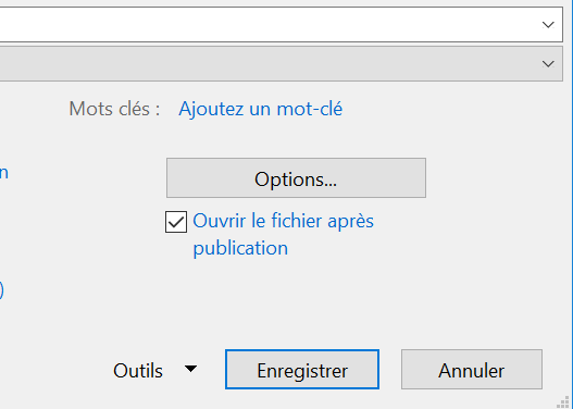Option Word to PDF